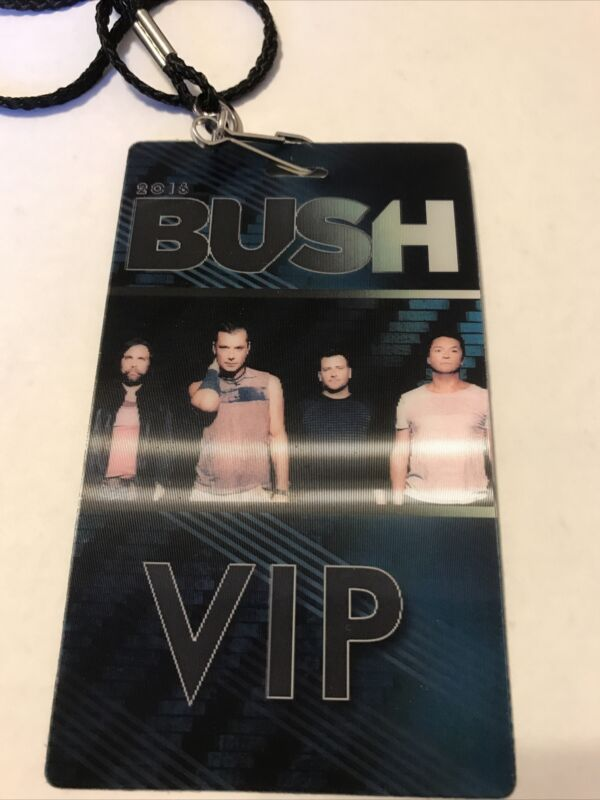 Rare 2016 Bush VIP Meet & Greet Tour Merchandise - Gavin Rossdale