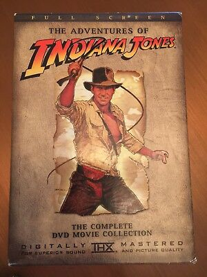 Indiana Jones Adventures Dvd Complete Set