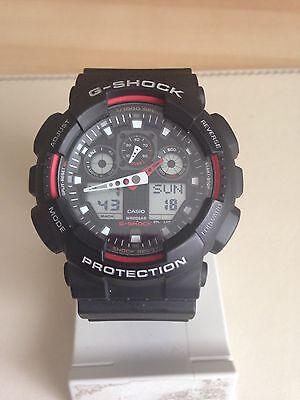 CASIO 5081 GA-100 G-Shock Resist Antimagnetic Watch