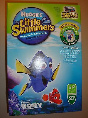 Huggies Little Swimmers Disposable Swimpants Size: S 27 count + 56 Wipes