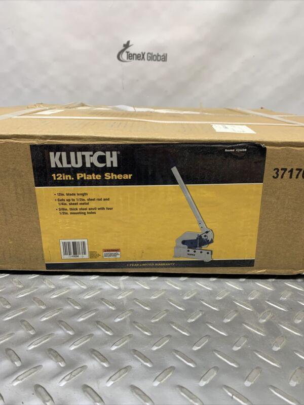 Klutch Plate Shear 12in. 49698 Q-14