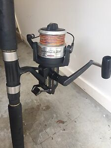 Shimano bait runner silstar power tip comb Carina Brisbane South East Preview