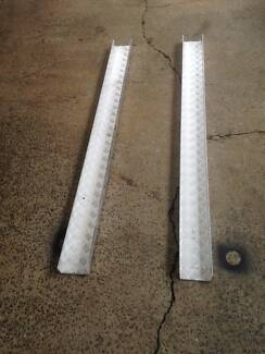 Motorbike aluminium trailer track, One only – New.