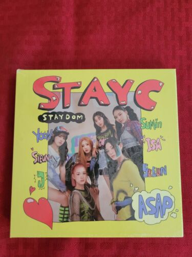STAYC - STAYDOM 2nd Single Album Brand New and Sealed (US BASED SELLER)