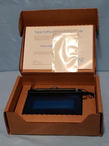 NEW Topaz E-Signature Pad 9-Pin Connector SigLite 1 X 5 T-S460-B-R Serial Port