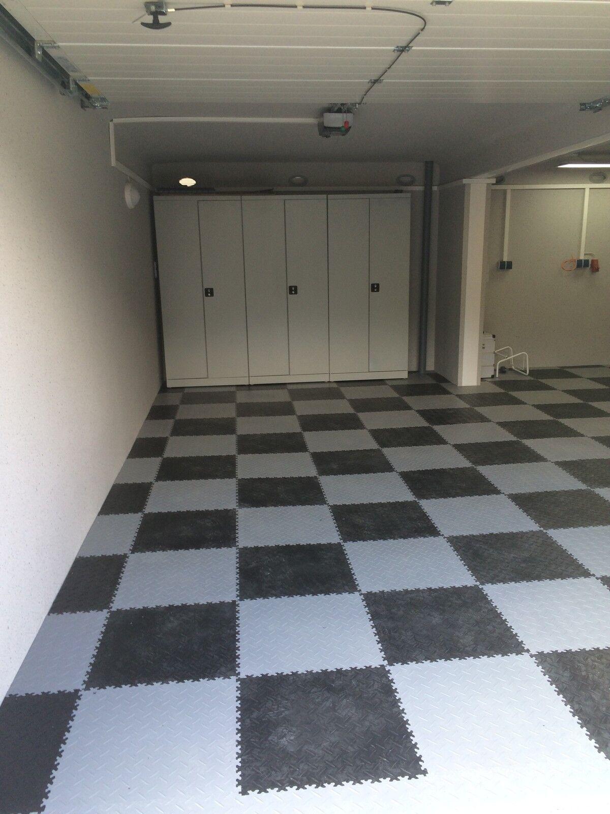 eco kunststoff pvc fliesen garagenboden gewerbeboden