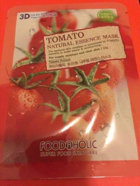 3D FoodAHolic Superfood Tomato Natural Essence Mask
