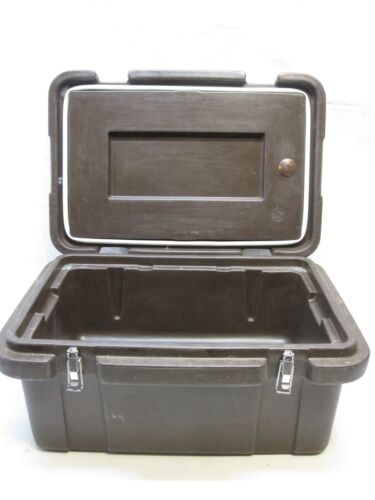 """CARLISLE FOOD STORAGE CONTAINER MERMITE TEMP KEEPER  CATERING 18qt 8"""" CATERAIDE"""