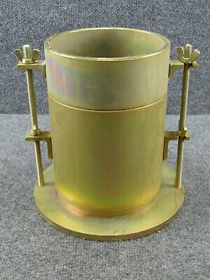 6635-00-371-9692 Compaction Mold Cylinder 0.11 Cubic Feet 6 Soil Test