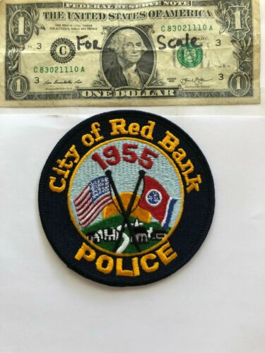 Red Bank Tennessee Police patch Un-sewn great condition