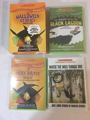 The Halloween Stories Collection (DVD 3-Disc Set) 18 Not-so Scary Stories NEW!](Halloween Scary Stories)
