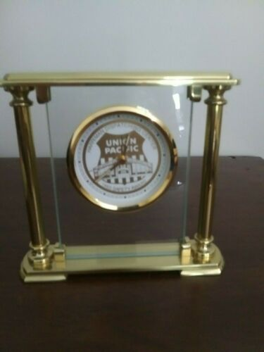 Union Pacific 1993 Safety Award Harriman Dispatching Center Clock Excellent