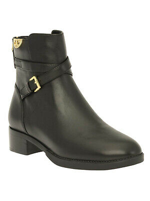 NWT Tory Burch SIDNEY BOOTIE HI VEG 31443 LEATHER  Boots Black 5 BURBERRY (Tory Burch Burberry)