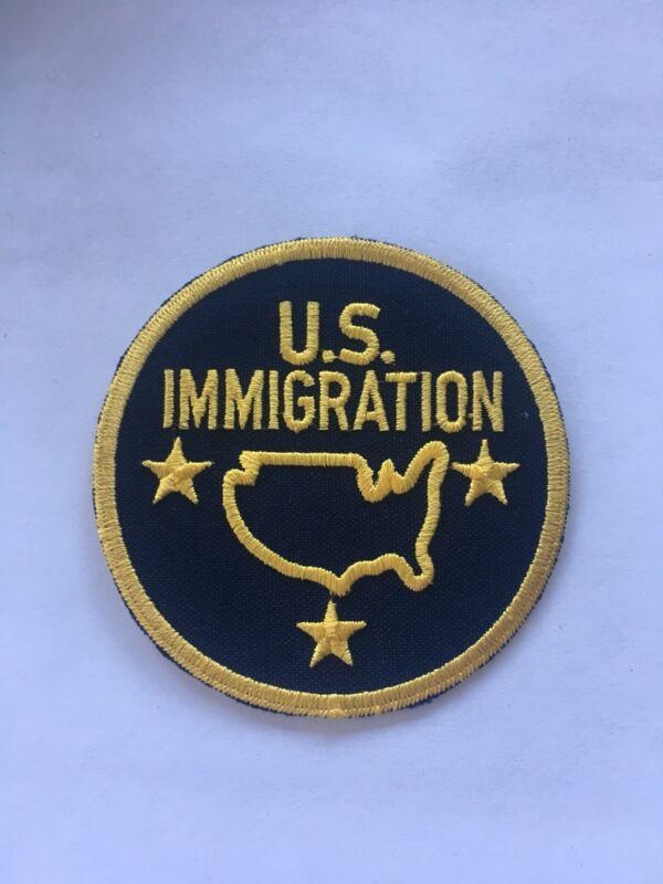 U.S. Immigration Patch