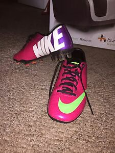 Nike Mercurial Soccer Cleats (only used three times!)