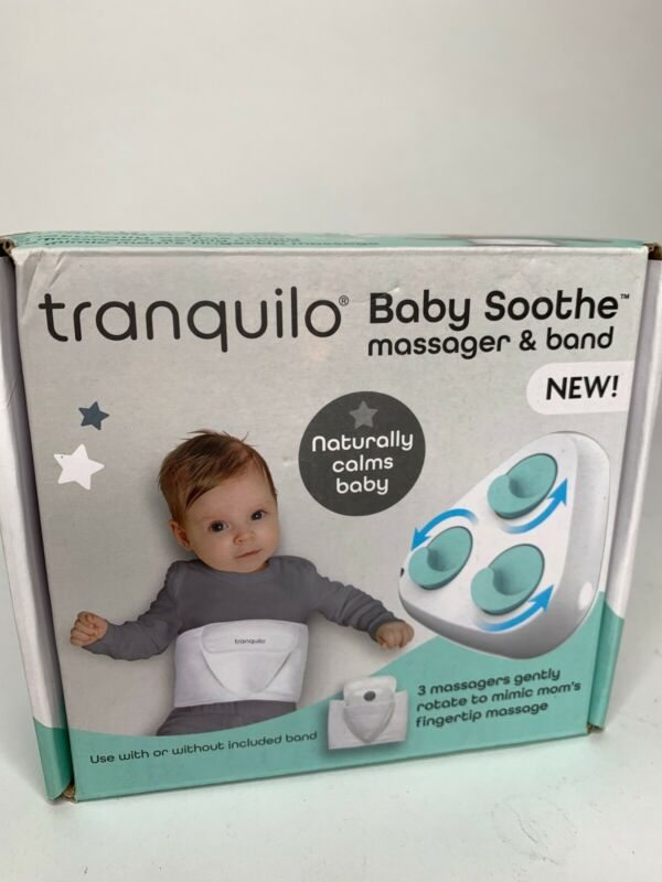 NEW! Tranquilo Baby Soothe massager and band