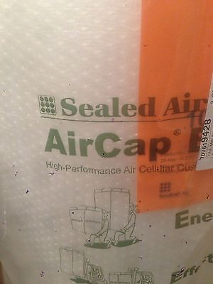 2 ROLLS SEALED AIR AIRCAP SMALL BUBBLE WRAP 750 mm X 75 m - FREE 24H DELIVERY
