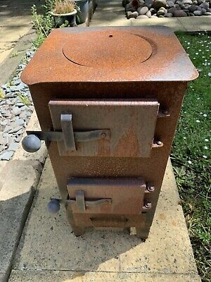 WOOD-BURNING STOVE LOG BURNER MULTIFUEL WORKSHOP HEATER