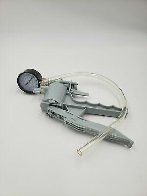 Hand Held Vacuum Pressure Pump Handle Produces 500mm Hg With Vacuum Tube