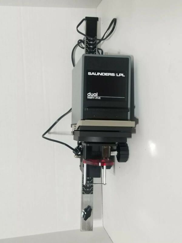 Saunders LPL Variable Contrast Black White Enlarger Dual Thirty Five Copy Stand