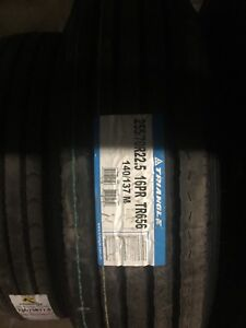 Used and New 255/70R22.5 Tires