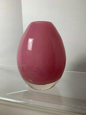 """Henry Dean 5"""" Pink Glass Vase"""