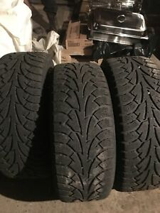 215/55 R16 winter tires on steel rims
