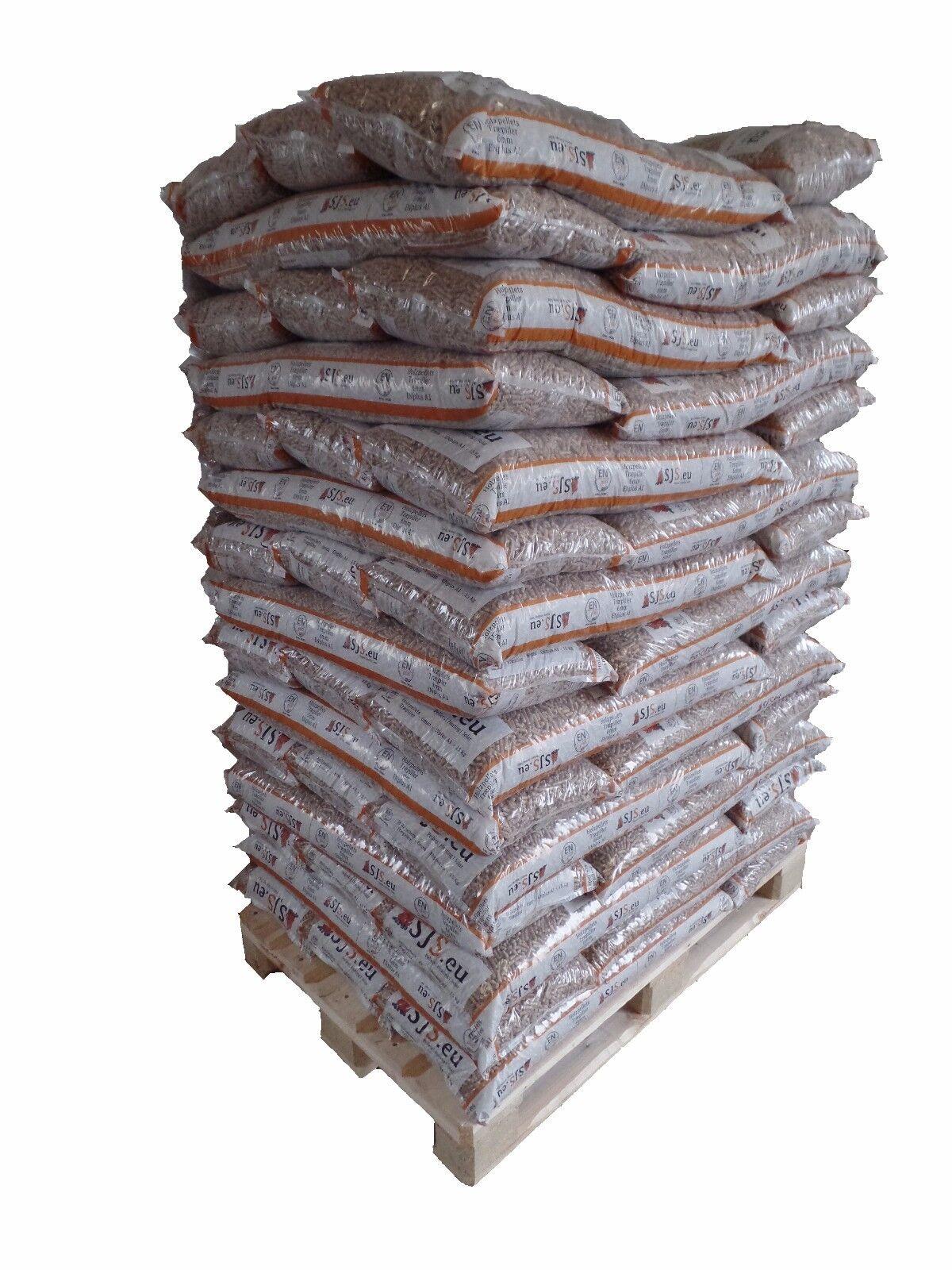 Holzpellets ENplus A1 Sackware 2 x 960Kg inkl. Lieferung Deutschlandweit