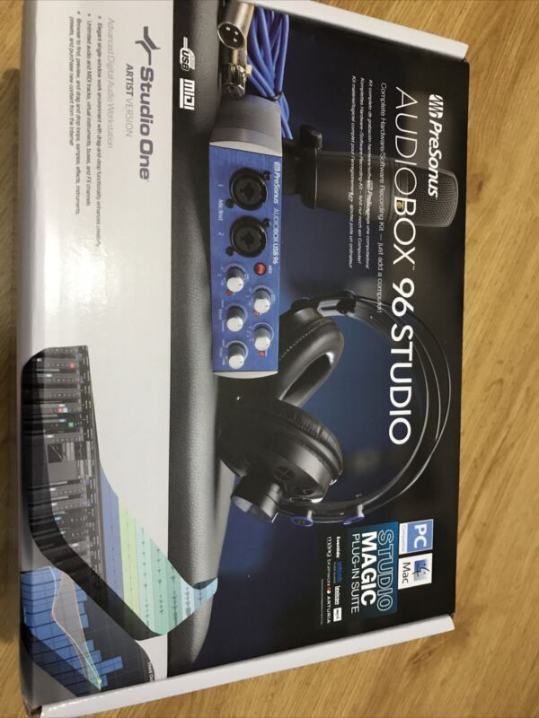 Presonus Audiobox 96 Studio Bundle Studio Magic Plug-in