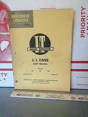 Case Tractor Manual 700 800 900 Series.   Item 8074