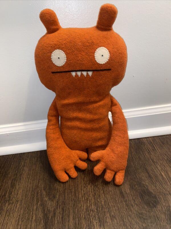 Pretty Ugly Uglydoll ABIMA Plush Stuffed Animal Orange FULL SIZED Classic 2004