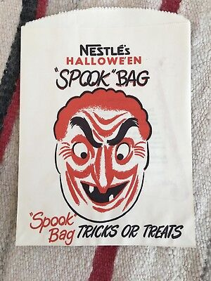 Nestle Halloween Candy (Lot/3 Vintage Halloween Candy Bags Treat Bags Nestle's