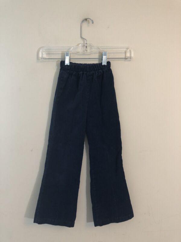 Vintage Kid's Blue Corduroys Elastic Waist Size 5