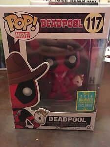 Dead pool cowboy funko pop 2016 convention. Exclusive