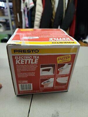 Presto Electronic Tea Kettle 02700 OPEN BOX