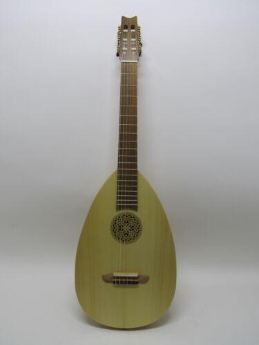 Thomann Lute 6 String Lute Guitar nylon strings w/padded Gig bag