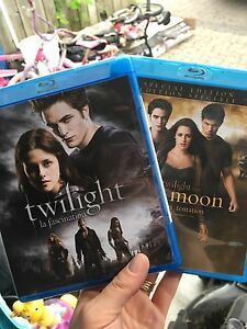 Twilight and New Moon Blu-rays