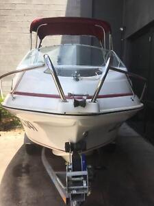 15.5 foot Haines signature boat