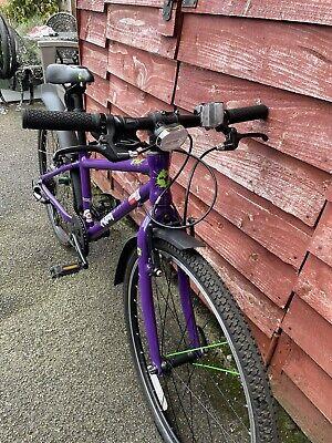 """Frog 62 kids bike - Purple - 24"""" wheels"""