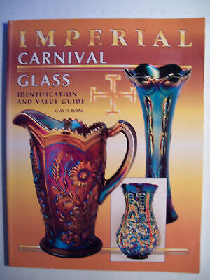 Imperial Carnival Glass Price Guide Collector's Book