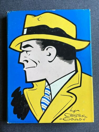 The Celebrated Cases of Dick Tracy 1931-1951 by Chester Gould 1970 1st Edition
