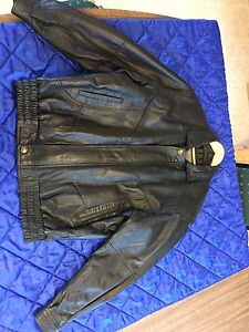 Men's Soft Leather Jacket XLT
