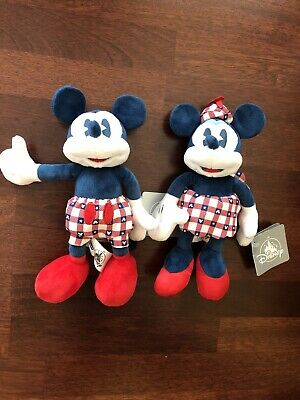 DISNEY America Strong Mickey & Minnie Mouse