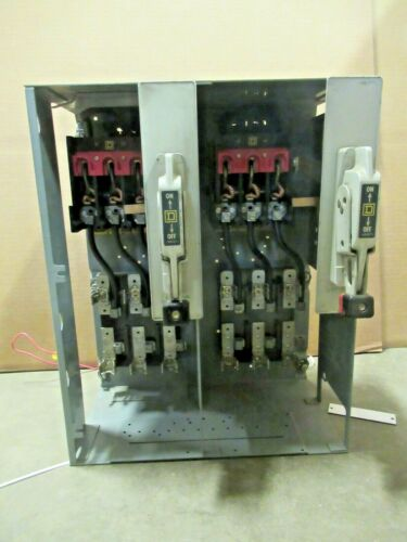 """Square D Model 4, 30 Amp MAX, 600 Volt, 18"""", DUPLEX FEEDER MCC Bucket -MC134"""