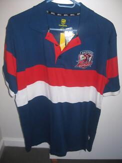 Sydney Roosters NRL Polo Shirt Men's Size L BNWT