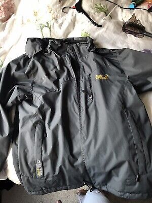 mens jack wolfskin jacket xxl