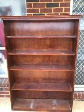 bookshelf timber stained as shown in picture Denistone East Ryde Area Preview