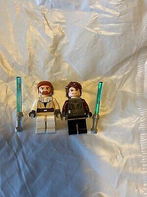 Lego Star Wars Anakin Skywalker Obi Wan Kenobi Clone Wars Minifigure