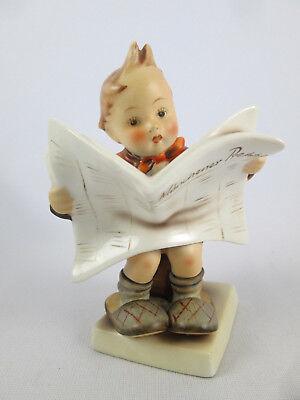 Hummel Latest News 184 Full Bee Tmk2 Germany Large 5 1 4  Figurine Rare Old