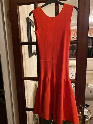 Vintage Mainline Issa Reyon Bandage Fit And Flare Dress XS
